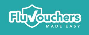 Flu Vouchers Made Easy logo in green
